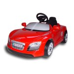 Детски автомобил с педали Audi R8 Spyder, червен