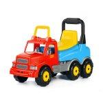 Детски камион за яздене, син
