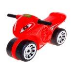 Мотоциклет червен