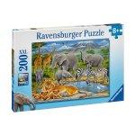 Пъзел Ravensburger 200 ел. - Животните в Африка