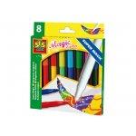 Магически маркери SES, 8 цвята