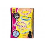 Комплект за плетени гривни SES Pink City