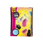 Комплект за бижута с пера SES Pink City