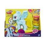 Play Doh - Комплект за игра, Малкото пони: Рейнбоу