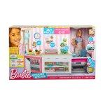 Игрален комплект Кухнята на Barbie, със светлини и звуци