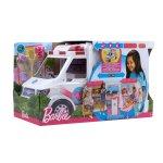 Barbie Мобилна клиника - игрален комплект с линейка
