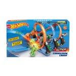 Игрален комплект Hot Wheels Спираловиден Сблъсък