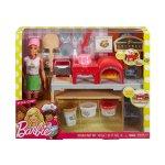 Кукла Barbie - Игрален комплект за приготвяне на пица