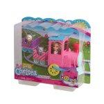 Кукла Barbie - Игрален комплект, Челси с влакче