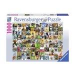 Пъзел Ravensburger 1000 ел. - 99 животни