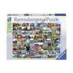 Пъзел Ravensburger 1500 ел. - 99 красиви места