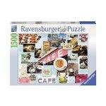 Пъзел Ravensburger 1500 ел. - Кафе и торта