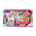Кукла Barbie - Каляска от Сладкото кралство