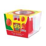 Пластелин SES, червен с аромат на ягода, 90 гр.