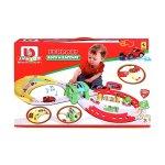 Bburago Junior - Комплект с писта за игра, със звук и светлина