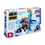 Комплект за игра Bburago - гараж с автомивка, 1бр. Количка 1:43