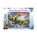 Пъзел Ravensburger 100 ел. - Ерата на динозаврите