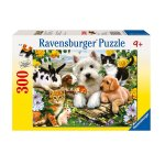 Пъзел Ravensburger 300 ел. - Щастливи животни